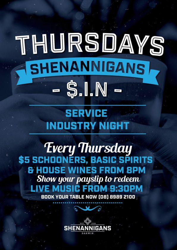 Industry Night at Shenannigans
