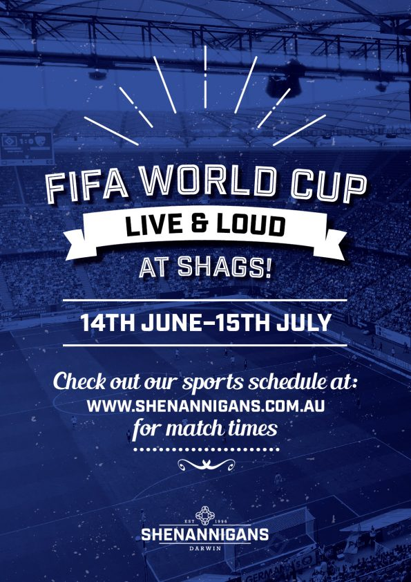 FIFA World Cup at Shenannigans