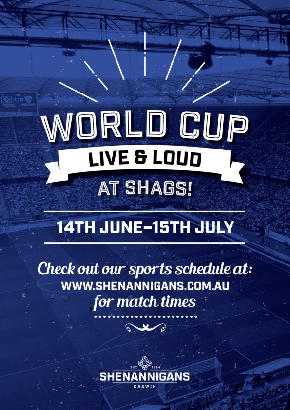 World Cup at Shenannigans