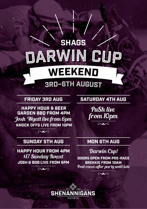 Darwin Cup Weekend At Shags