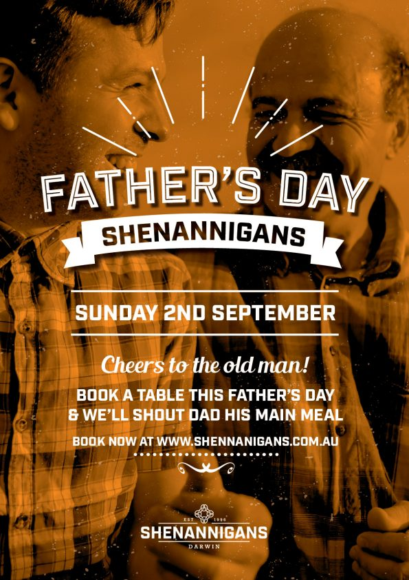 Father's day at Shenannigans