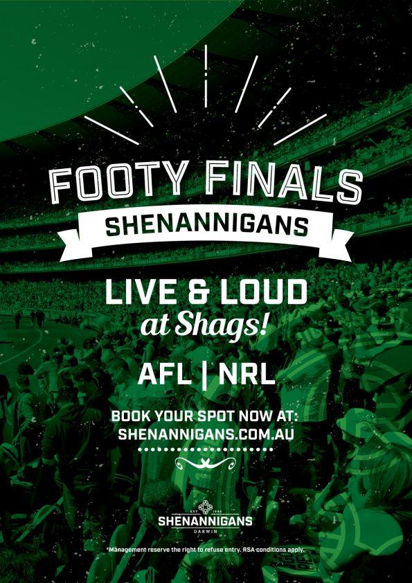 AFL & NRL Footy finals Live & Loud